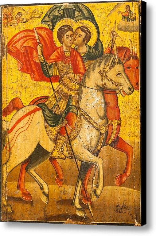 Marx Broszio - Saints Sergius and Bacchu... Print