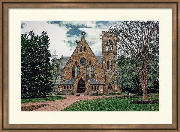 Jerry Gammon - Chapel at University of V... Print
