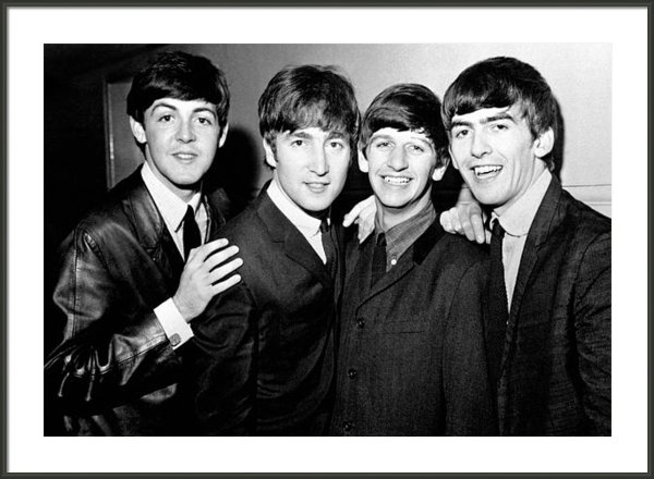 Nomad Art And  Design - The Beatles Print