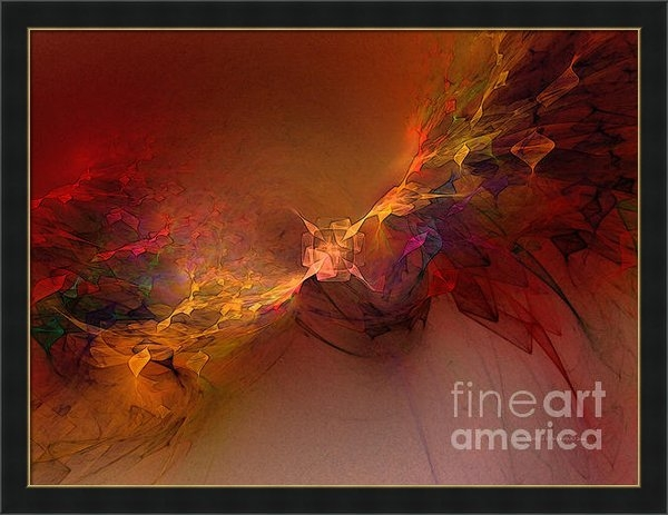 Carlita Cooly - Elemental Force-Abstract ... Print