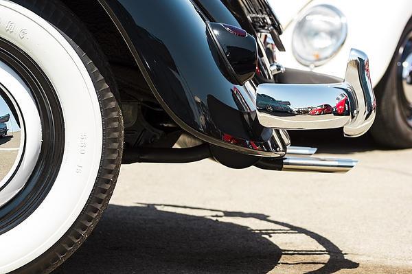 Studio Janney - VW Beetle Bumper Reflecti... Print