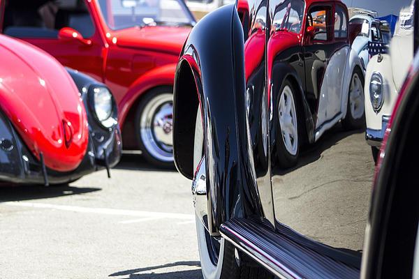 Studio Janney - VW Beetles and Reflection... Print