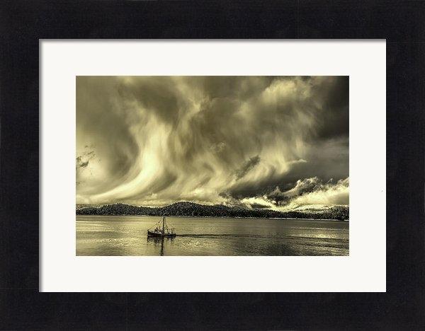 Evan Spellman - Angel Wings Sunrise and S... Print