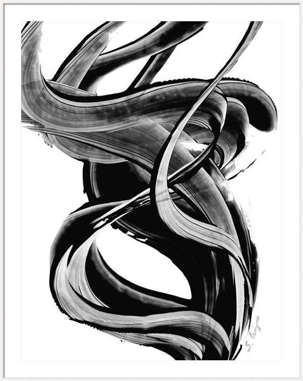 Sharon Cummings - Black Magic 314 by Sharon... Print