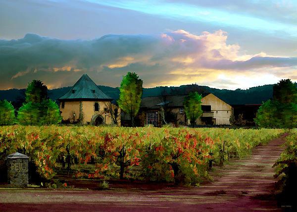 Paul Bailey - Peju Winery Print