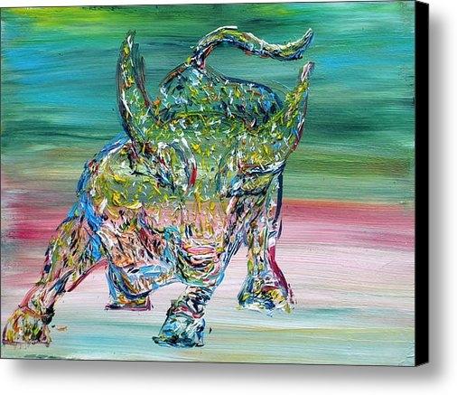 Fabrizio Cassetta - Wall Street Bull Print