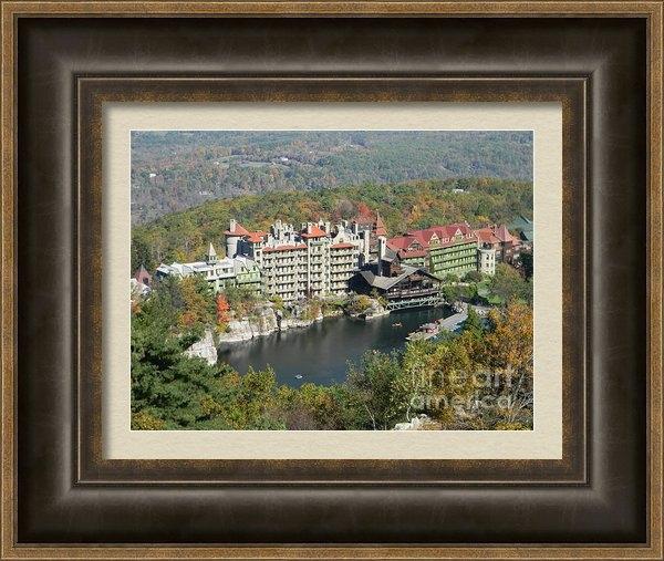 Timothy Curtin - Fall Mohonk Mountain Hous... Print