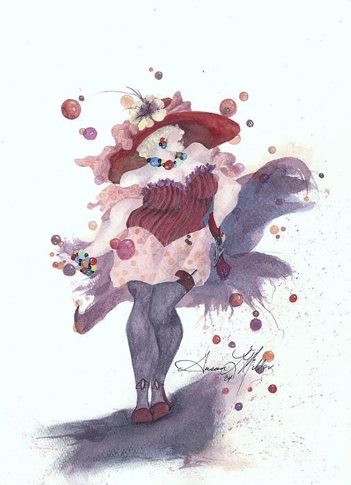 Susan Miller - Bubbles and Baubles Print
