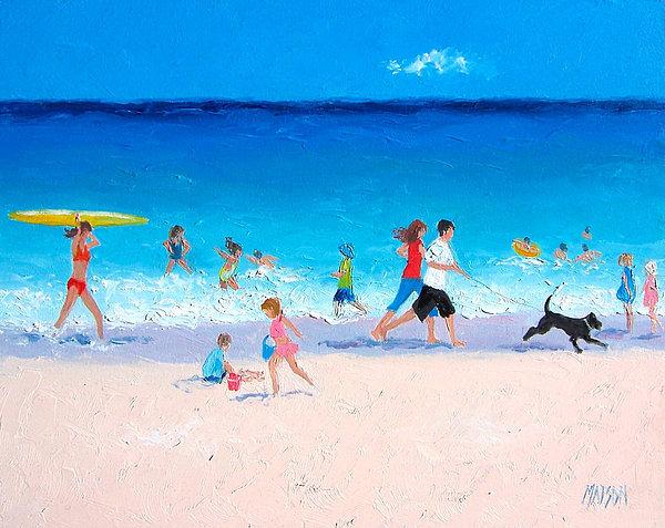 Jan Matson - Sunshine and Summertime Print