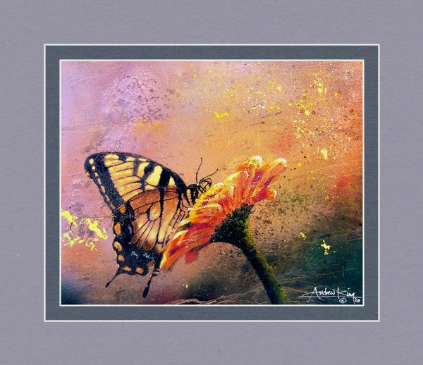 Andrew King - Butterfly Print