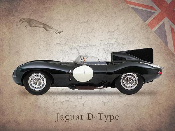Mark Rogan - Jaguar D-Type Print