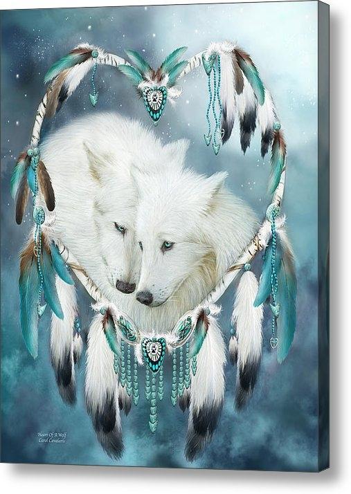 Carol Cavalaris - Heart Of A Wolf Print