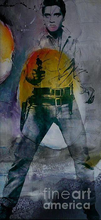Marvin Blaine - Elvis Print