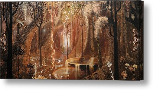 Casey Matthews - The Enchanted Forest Print