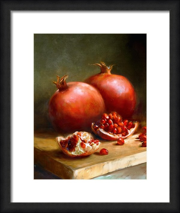 Robert Papp - Pomegranates Print