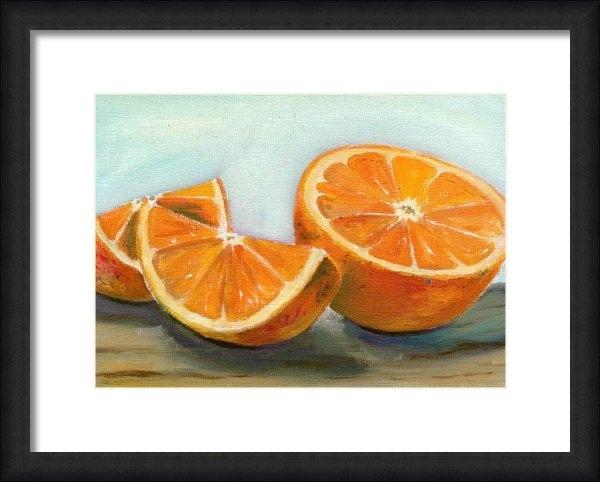 Sarah Lynch - Orange Print