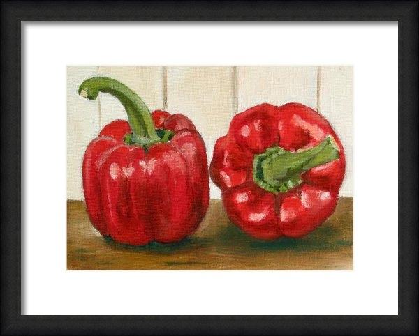 Sarah Lynch - Red Pepper Print