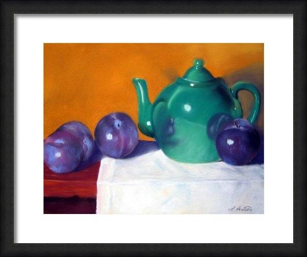 Laurel Astor - Teapot and Plums Print