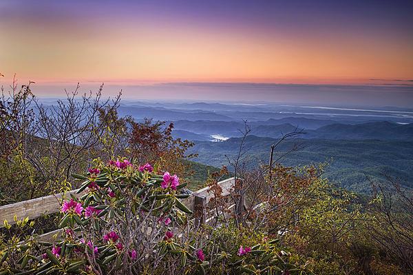 Andrew Soundarajan - Blue Ridge Dawn Print