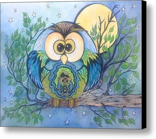 Meldra Driscoll - Owl Take Care Of You Print