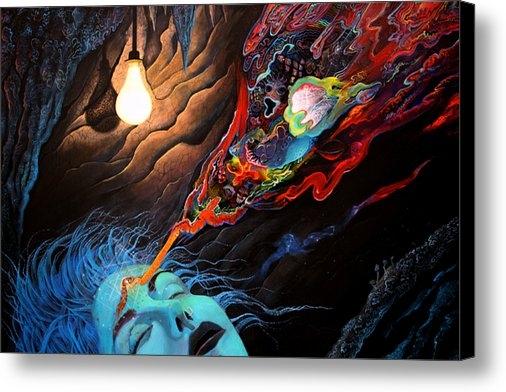 Steve Griffith - Turn The Light On Print
