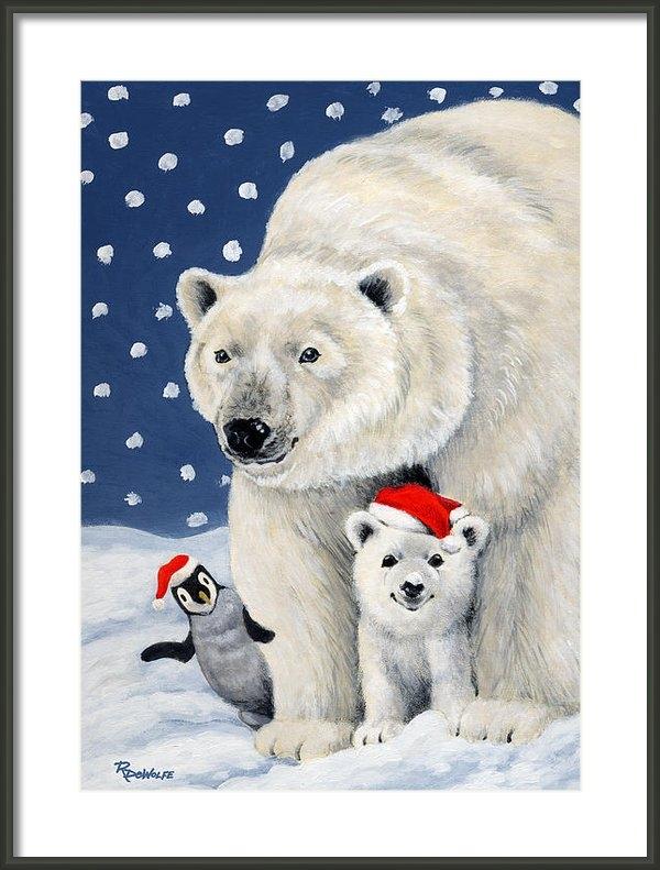 Richard De Wolfe - Holiday Greetings Print
