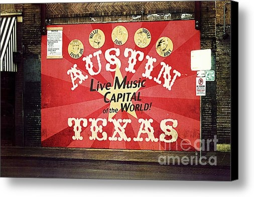 Trish Mistric - Austin Live Music Print