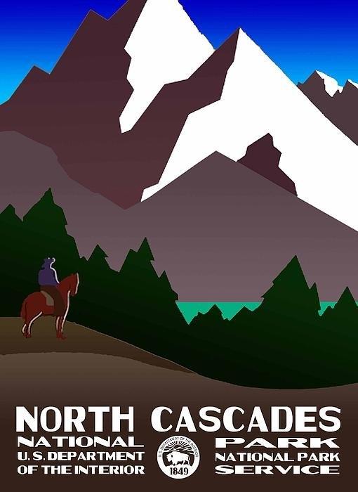 Eric Glaser - North Cascades National P... Print