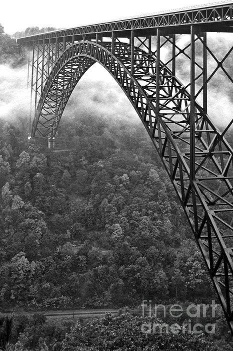 Thomas R Fletcher - New River Gorge Bridge Bl... Print