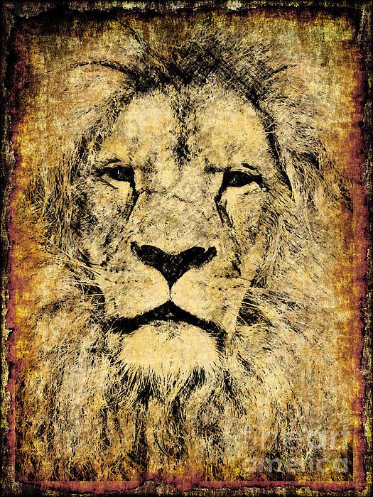 Zeana Romanovna - Vintage Lion King Print