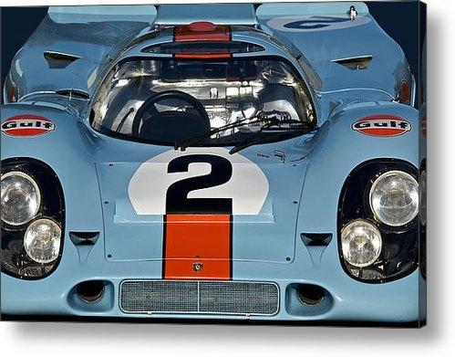 Dave Koontz - 1969 Porsche 911 917K Print