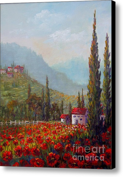Lou Ann Bagnall - Inspired by Tuscany Print