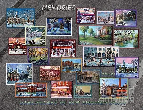 Rita Brown - Streets Full Of Memories Print
