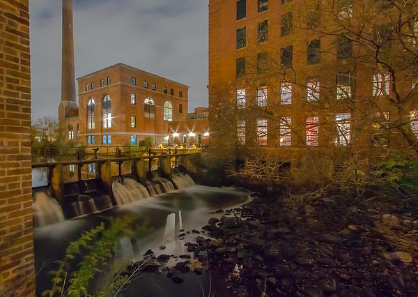 Brian MacLean - Night at the River Print