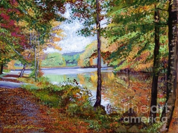 David Lloyd Glover - Autumn at Rockefeller Par... Print