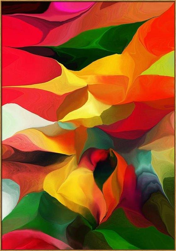 David Lane - Uplifting Psychically  Print