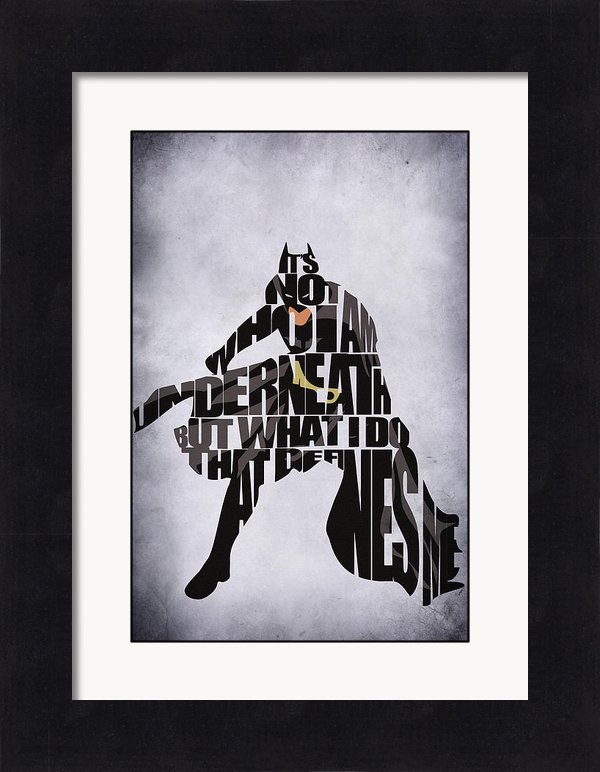 Ayse Deniz - Batman Print