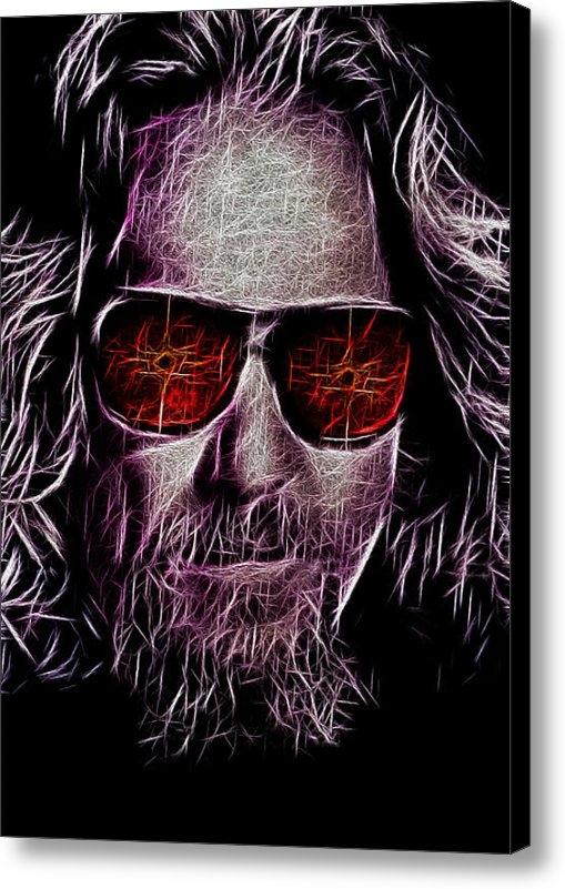 Bill Cannon - Jeff Lebowski - The Dude Print