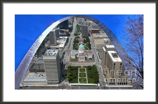 Thomas Woolworth - St Louis A View From The ... Print