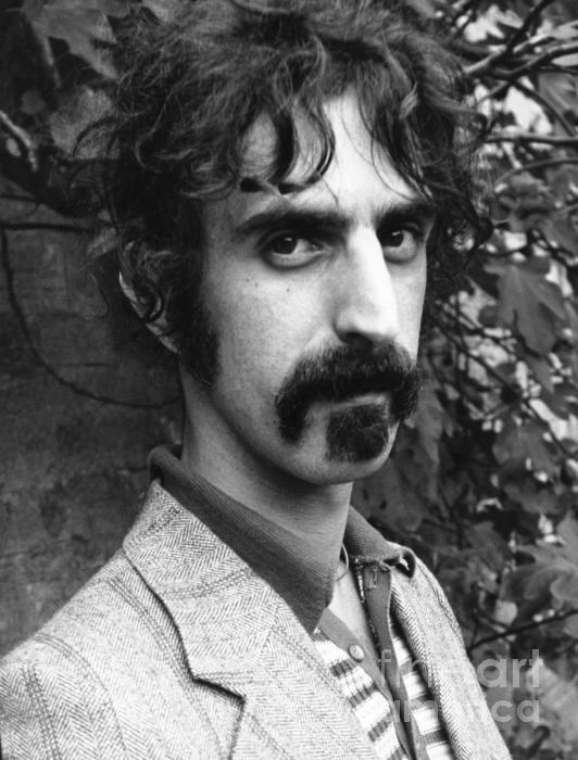 Chris Walter - Frank Zappa 1970 Print