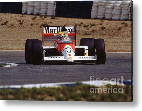 Sam August - Ayrton Senna. 1989 Spanis... Print