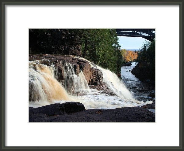 James Peterson - Winding Falls Print