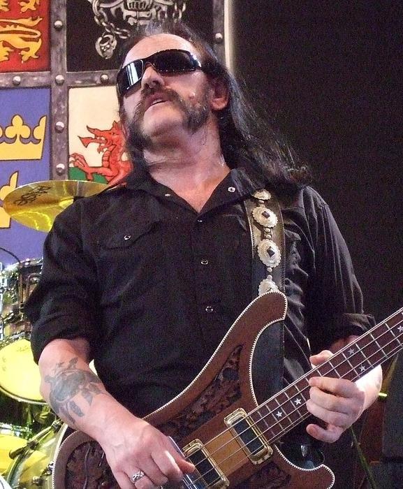 Randy Walton - Lemmy Motorhead 2008 Print