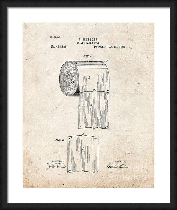 BJ Simpson - Toilet Paper Roll Patent ... Print