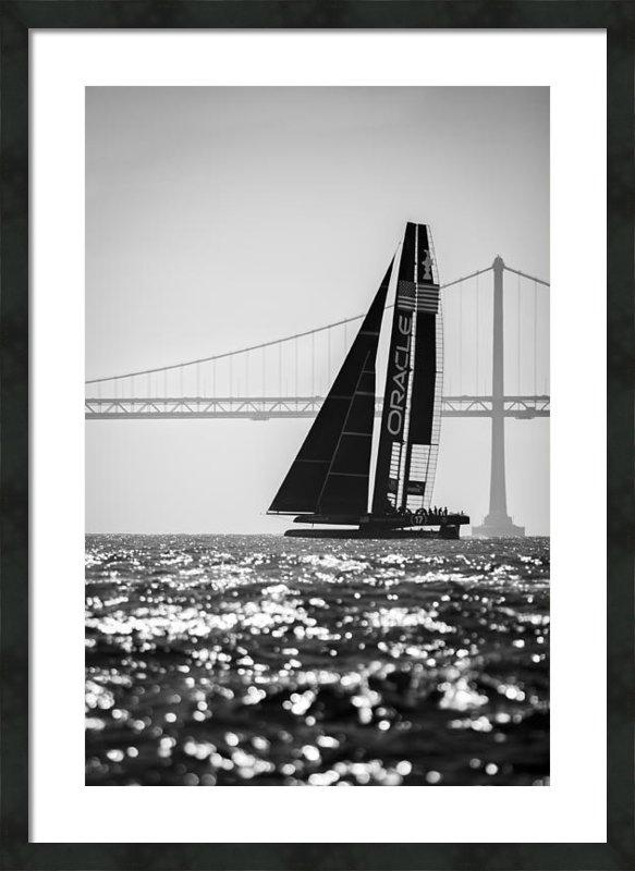 Jason Sinn - Oracle Sunset - Black and... Print