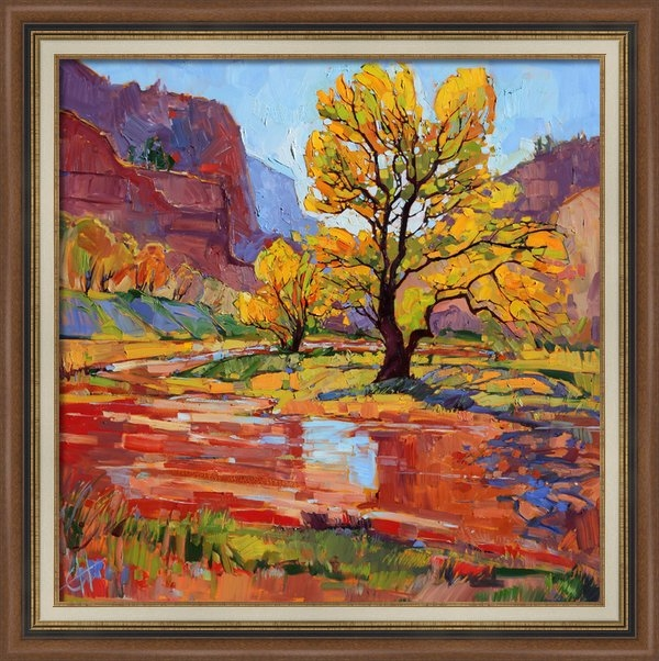 Erin Hanson - Reflections in the Wash Print