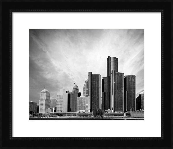 Alanna Pfeffer - Detroit Black and White S... Print