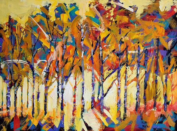 Ron and Metro - Aspen Trees Print