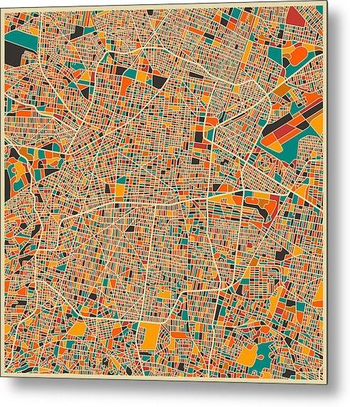 Jazzberry Blue - Mexico City Print