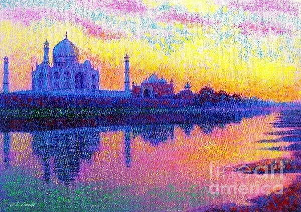 Jane Small - Reflections of India Print